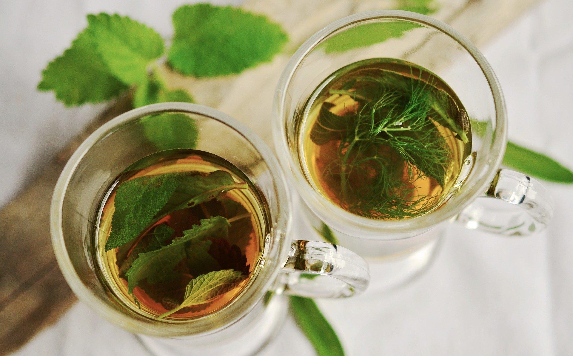 الشاي والنعناع لعلاج حرقة الشمس